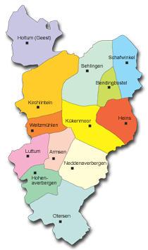 Feuerwehrkarte©Gemeinde Kirchlinteln