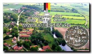 2015 Luftbild Otersen mit Bundessieger-Logo
