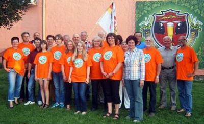 Initiative der Letovice-Freunde mit T-Shirts 2014